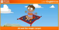 Ali and the magic carpet (Али и магични ћилим)